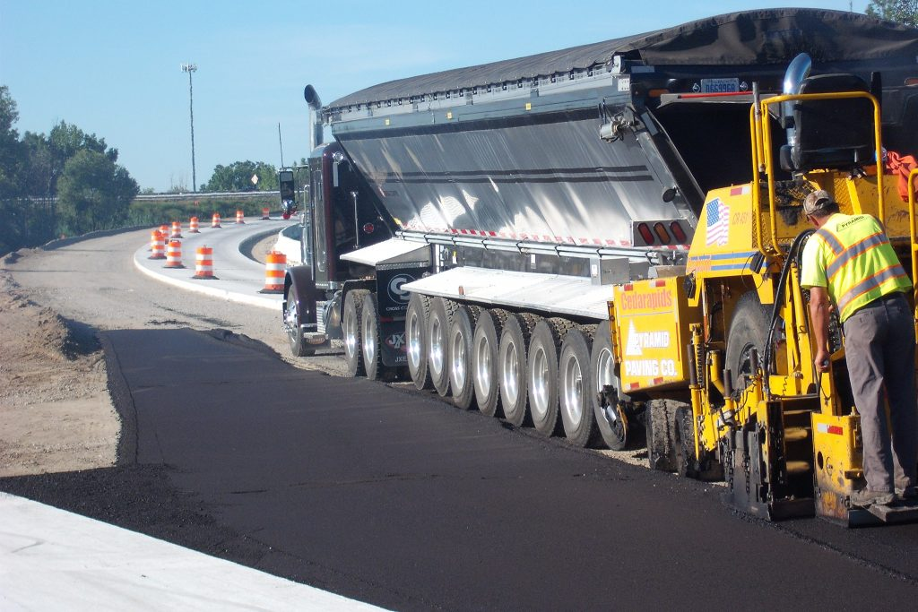 Paving of I-75 and I-675 in Arenac County, MI