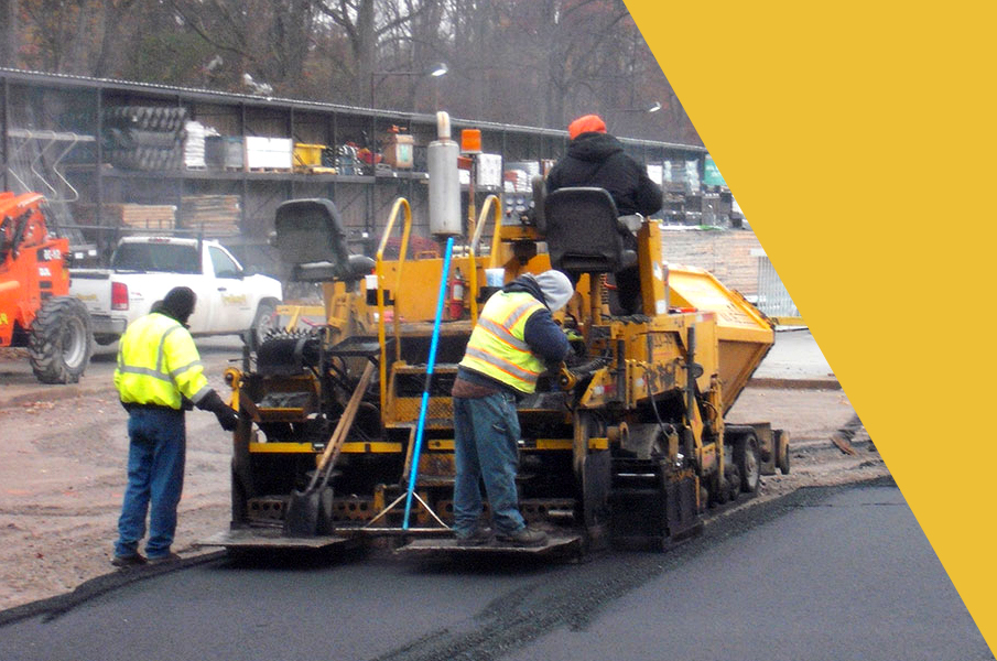 Asphalt Paving Team